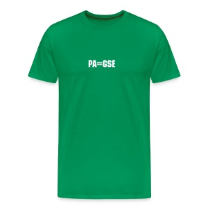 men's kelly green pa equals gse tshirt - Men's Premium T-Shirt