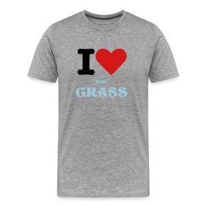 I love Bluegrass - Men's Premium T-Shirt