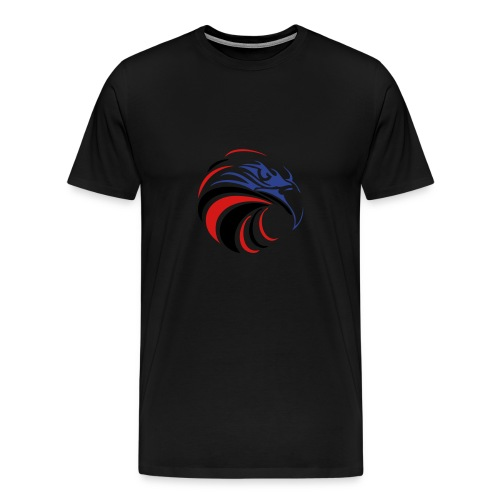 Heavyweight Cotton-T-Shirt, PATRIOT EAGLE 4  - Men's Premium T-Shirt