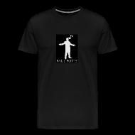 T-Shirts ~ Men's Premium T-Shirt ~ Paul Potts silhouette T-Shirt