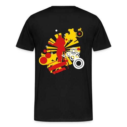 Music Is Life Tee - Men's Premium T-Shirt