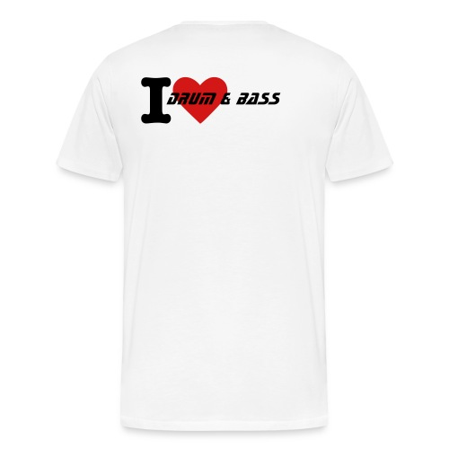 I Love Drum & Bass... - Men's Premium T-Shirt