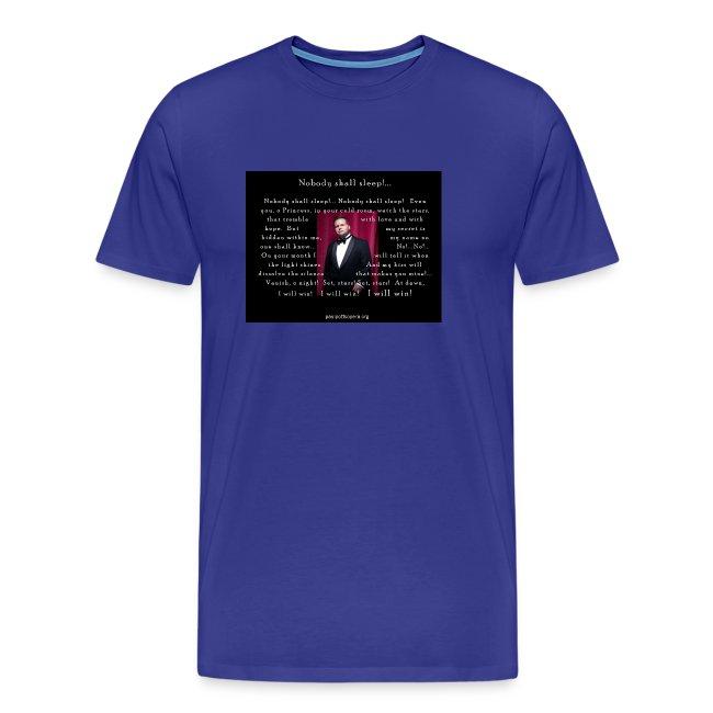 XXXL Paul Potts T-Shirt