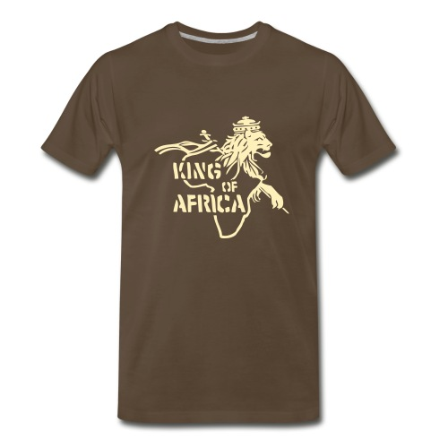 King of Africa Tee - Men's Premium T-Shirt