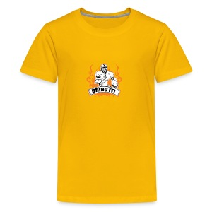Yellow Bring It Tee - Kids' Premium T-Shirt