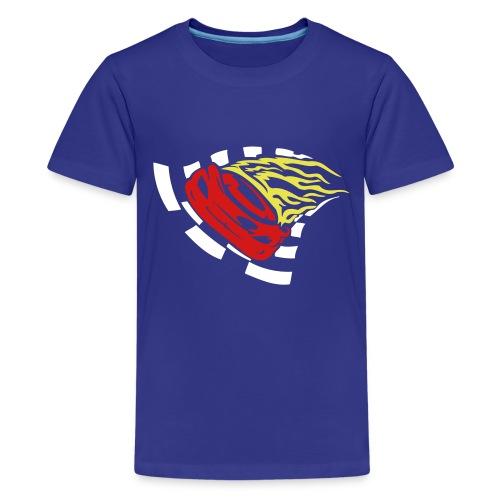 Blazing Racer - Kid's T-Shirt - Kids' Premium T-Shirt