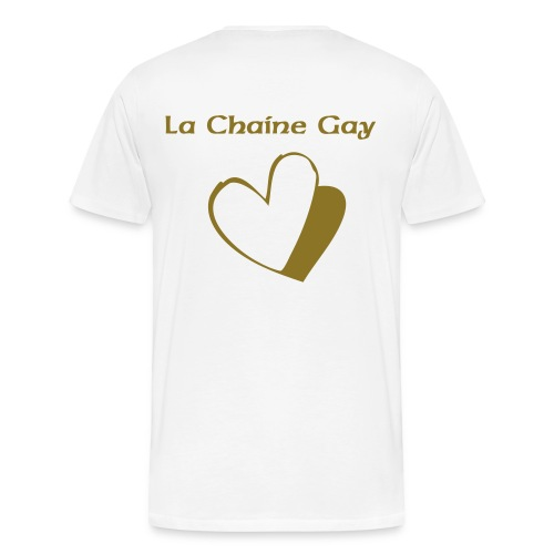 La Chaine Gay Or - Men's Premium T-Shirt