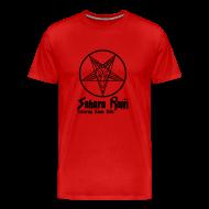 T-Shirts ~ Men's Premium T-Shirt ~ Men's Red Sahara Rain