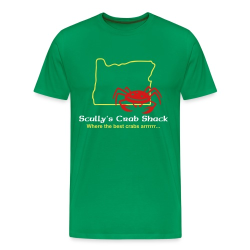 Scully's Crab Shack - Men's Premium T-Shirt