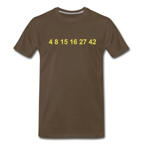 Lost Number - Men's Premium T-Shirt