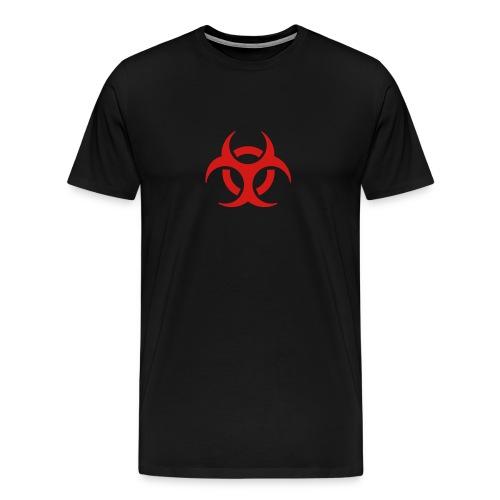 Bio Hazard, Black - Men's Premium T-Shirt