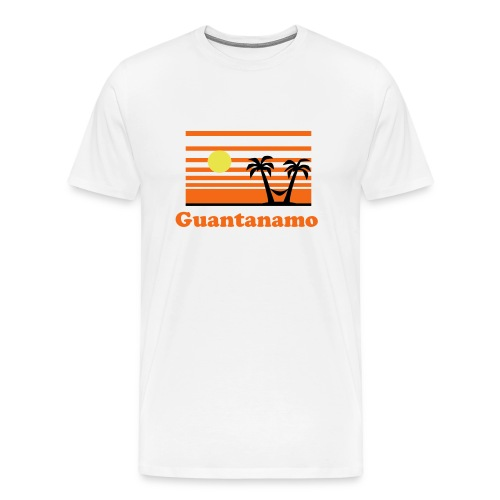 Gitmo cotton shirt - Men's Premium T-Shirt