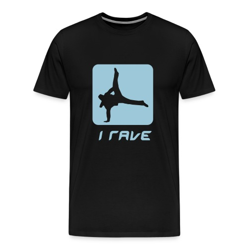 i rave - Men's Premium T-Shirt