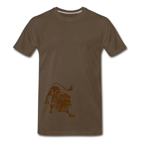 Lion Thick Tee - Men's Premium T-Shirt