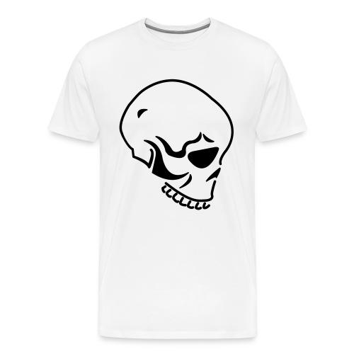 SKULL-BLK - Men's Premium T-Shirt