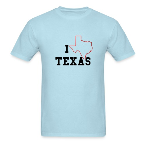 Love Texas - Men's T-Shirt