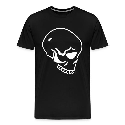 SKULL-WHT - Men's Premium T-Shirt