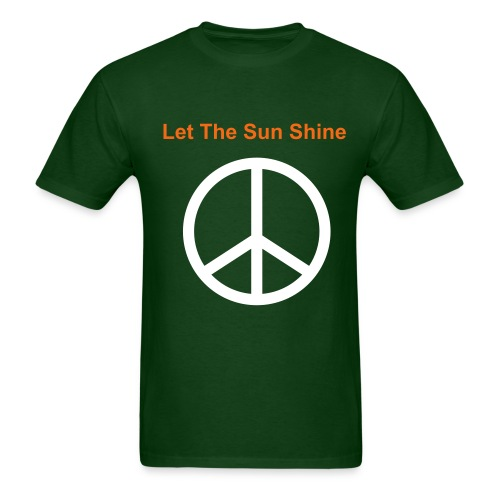 Let The Sun Shine Shirt - Men's T-Shirt