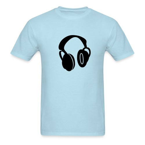 Headphones - Men's T-Shirt