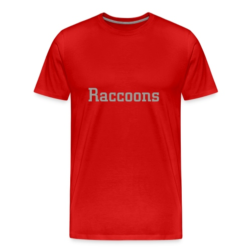 Raccoons Temp - Men's Premium T-Shirt