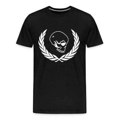 Men's black skull t-shirt - Men's Premium T-Shirt