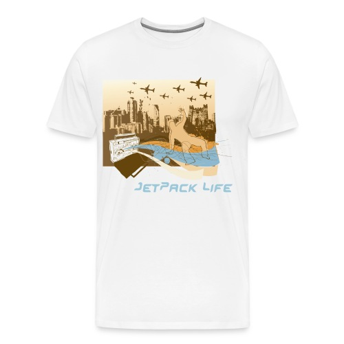 jetpack city - Men's Premium T-Shirt
