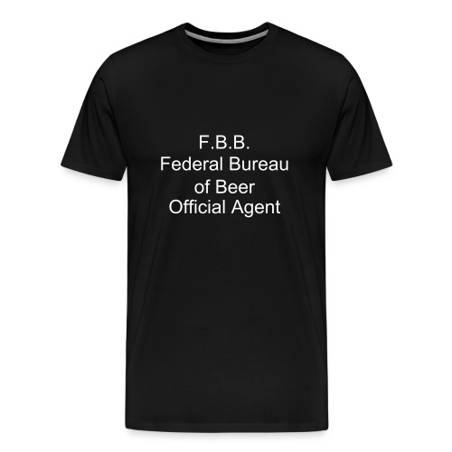 Federal Bureau of Beer - Men's Premium T-Shirt