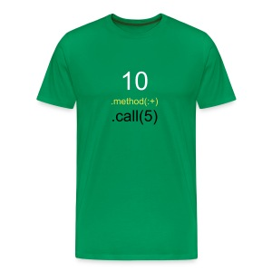 10.method(:+).call(5) II - Men's Premium T-Shirt