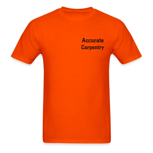 Accurate Carpentry - Men's T-Shirt
