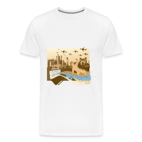 heavyweight cotton t-shirt - Men's Premium T-Shirt