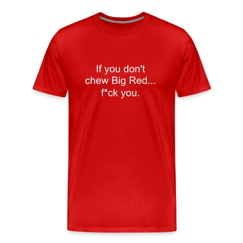 Big Red - Men's Premium T-Shirt