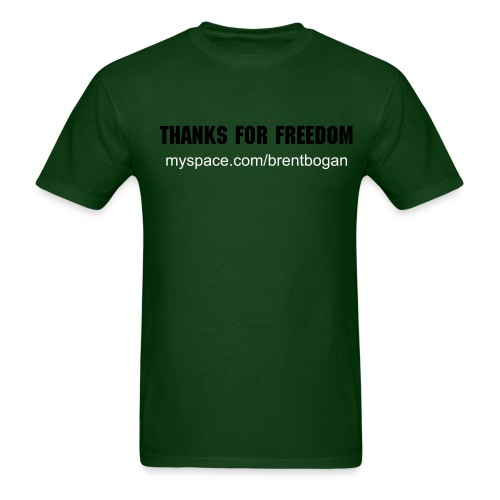 Thanks for Freedom - Men's T-Shirt