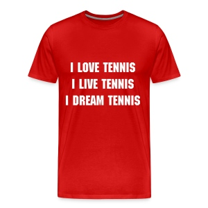 Play Tennis - Men's Premium T-Shirt