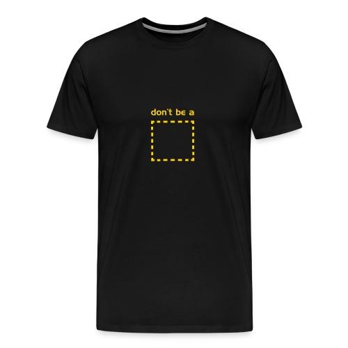 square - Men's Premium T-Shirt