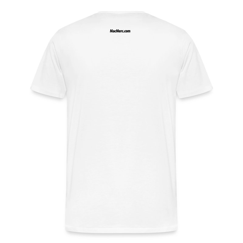 White Option-Shift-K T-Shirt - Men's Premium T-Shirt