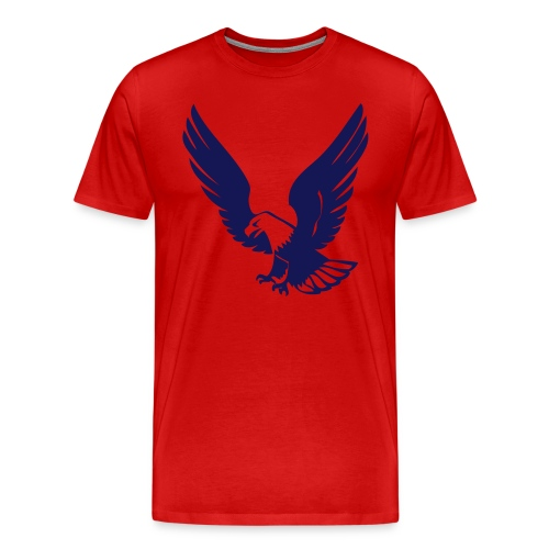 Eagle Red Shirt - Men's Premium T-Shirt