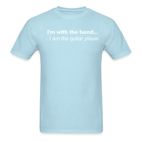 Band, Guitar player - Men's T-Shirt