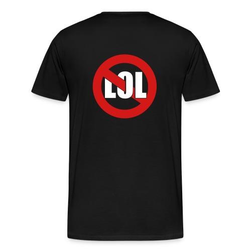 No PDEng (+No LOL) - Men's Premium T-Shirt