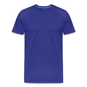 Blue T - Men's Premium T-Shirt
