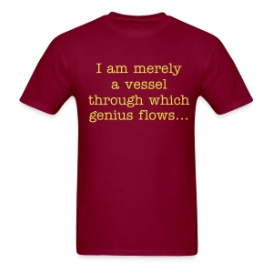 I am merely a vessel... (red) - Men's T-Shirt