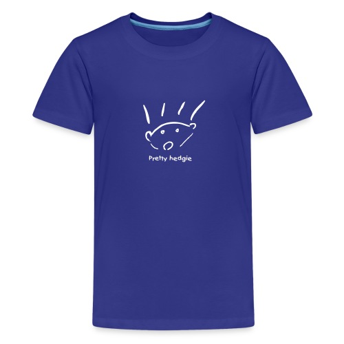 Kids' Premium T-Shirt - Hedgehog - Pretty hedgie