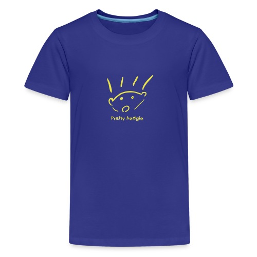 Kids' Premium T-Shirt - Hedgehog - Pretty hedgie