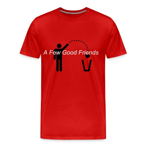 AFGF-Throw away heart - Men's Premium T-Shirt