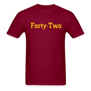 Forty-Two - Men's T-Shirt