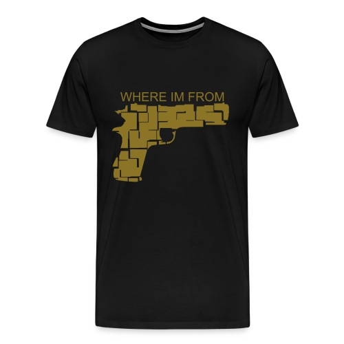 Gun Play Tee - Men's Premium T-Shirt