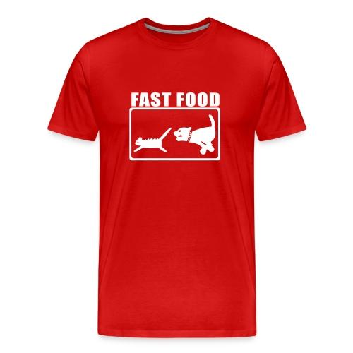 Mens Fast Food - Men's Premium T-Shirt