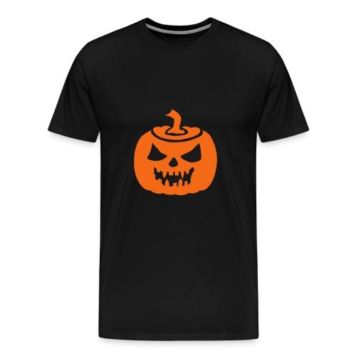 Pumpkin Head - Men's Premium T-Shirt