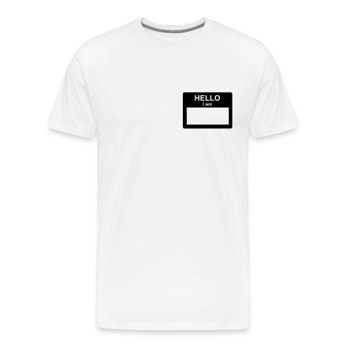 Rep White Tee - Men's Premium T-Shirt