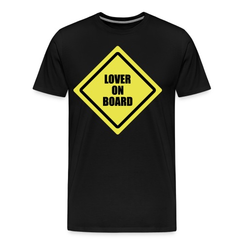 Men's XXXL Lover on Board T-Shirt - Men's Premium T-Shirt