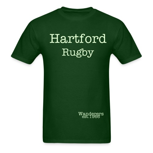 Hartford Rugby T shirt (Glow in the Dark) - Men's T-Shirt